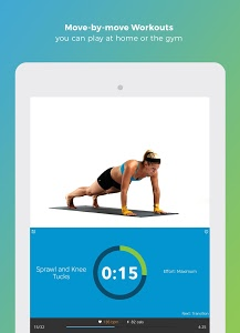 screenshot of Workout Trainer: fitness coach version Varies with device