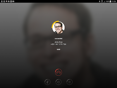 screenshot of Yelo Phone - WiFi Calling, Forwarding & Voicemail version Varies with device