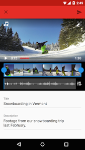 screenshot of YouTube version 10.24.55