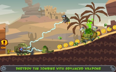screenshot of Zombie Hill Trip Derby Racing version 1.2