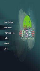 screenshot of ePSXe for Android version 2.0.1