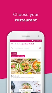 screenshot of foodora - Local Food Delivery version 5.4.2