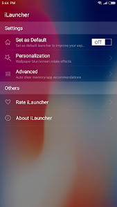 screenshot of iLauncher for OS 11 - Stylish Theme and Wallpaper version 2.2.2