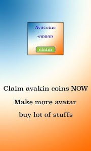 screenshot of life Avacoins free for avakin version 1.0.0
