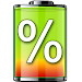 Download show battery percentage 29.0 APK