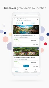 screenshot of trivago: Compare hotel prices version Varies with device